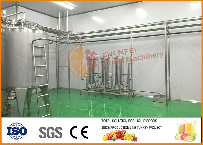 Professional Tomato Paste Blending And Filling Line CFM-B2-06-10-13